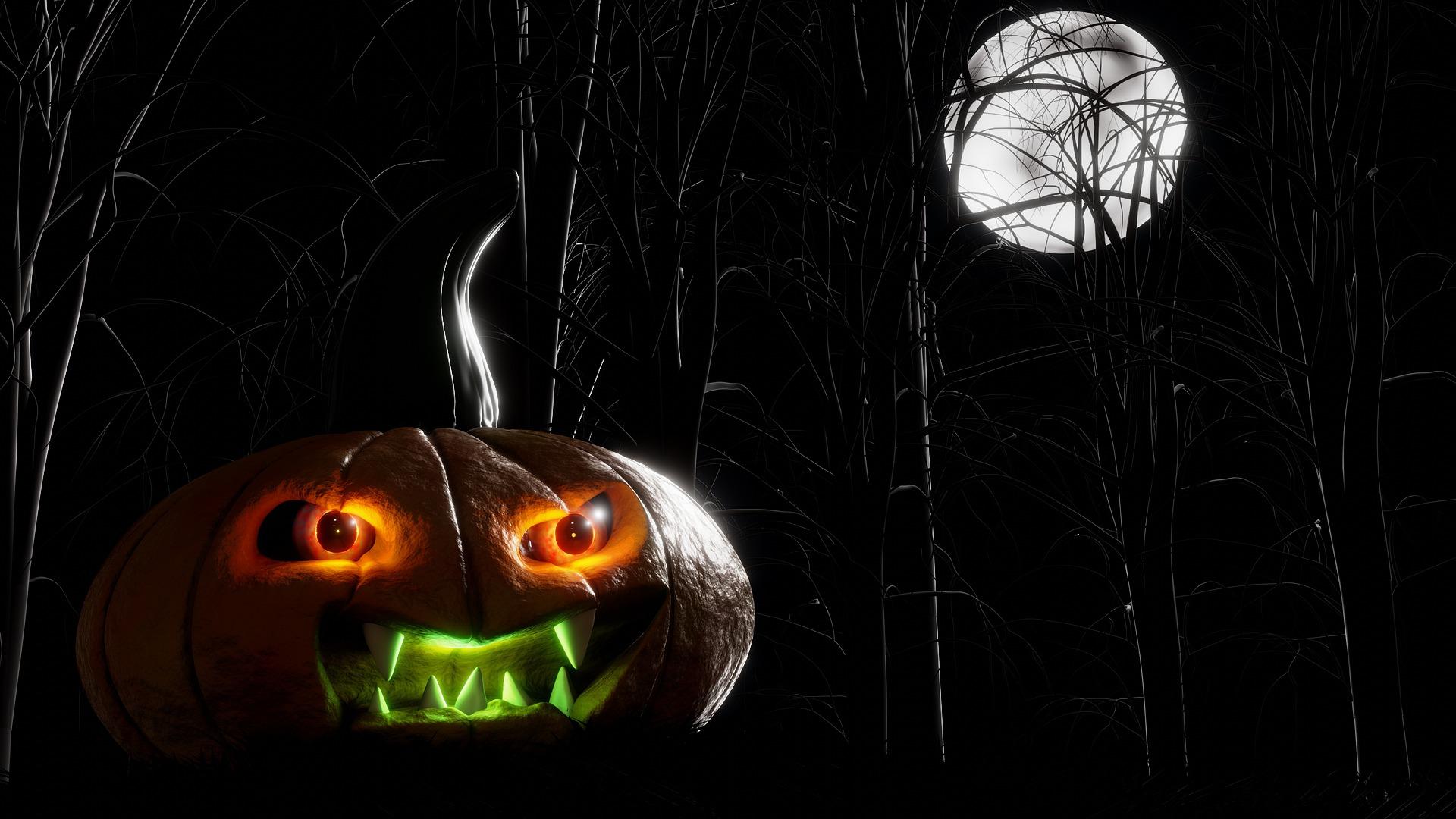 Halloween Blue Moon